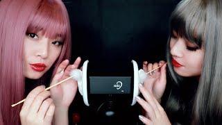 [ASMR] Twin Ear Cleaning by K-Pop Stars