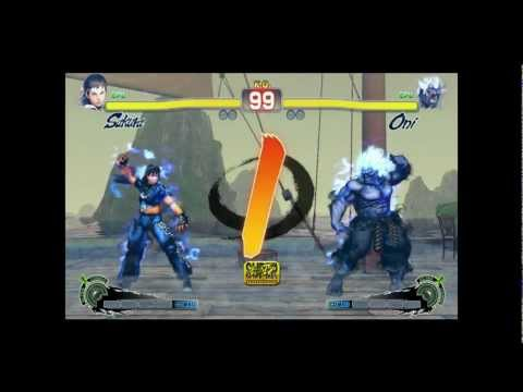 Oni Sakura - Street Fighter IV Arcade Edition Mod (PC) HQ - Improved AI