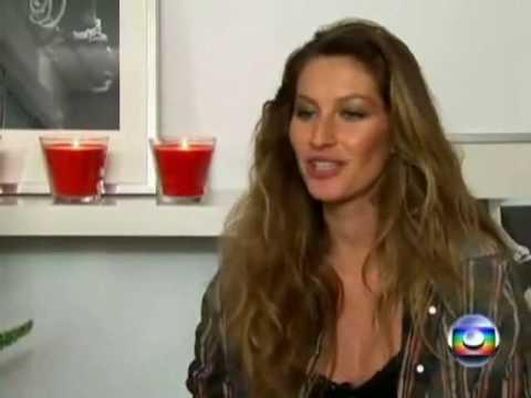 Entrevista com Gisele Bündchen - Detalhes do Parto Normal e em Casa