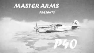 P40 vs Train - Wings of Liberty (IL2 Sturmovik)