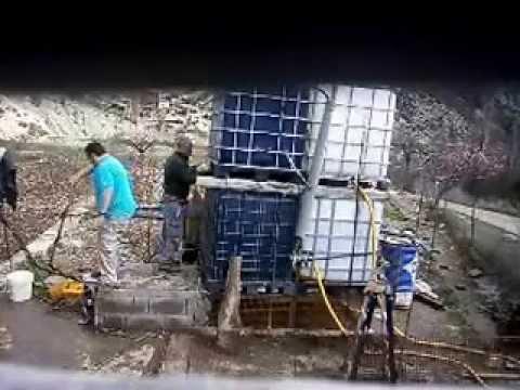 Instalaci n de dep sitos para riego gota a gota i parte for Aspersores para riego de jardin