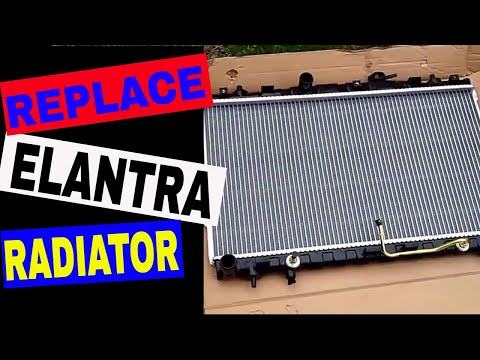 How to replace a radiator in a 2004 Hyundai Elantra