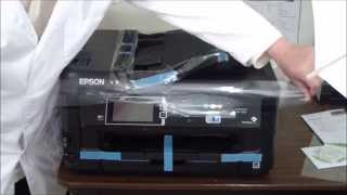 02. Epson WorkForce WF-7610 Unboxing & Setup