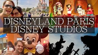 4 Days at Disneyland Paris Vlog, Disney Studios, Disney Village, Dining