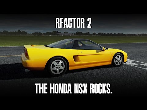 rFactor 2 : Yes. The NSX Rocks. (NSX @ Tiger Moth TT)