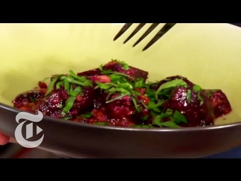 Thanksgiving Recipes: Beet Salad With Garlic-Walnut Sauce - Mark Bittman