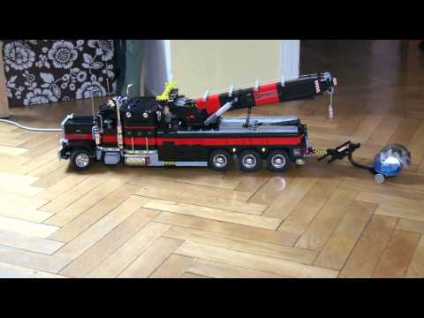 Lego Motorized Tow Truck 2 HD Exterior Video