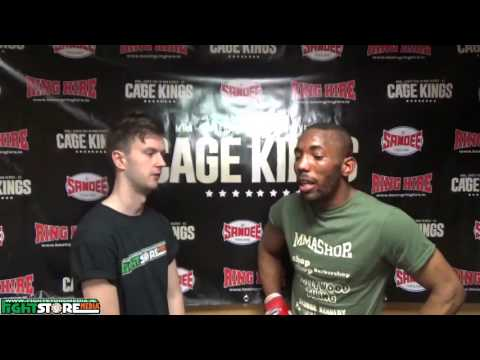 Jeanderson Castro post fight interview at Cage Kings Dublin