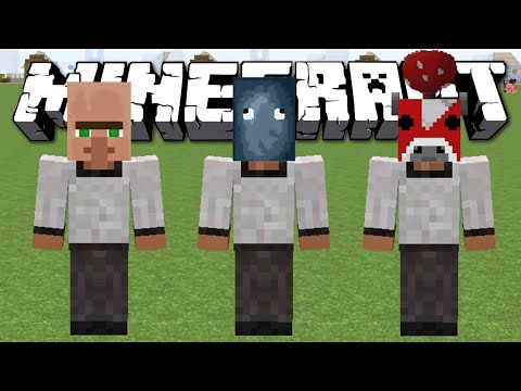 НОСИМ ГОЛОВЫ МОБОВ - Minecraft (Обзор Мода)