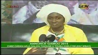 Cheikh Adja Saliou Thioune - Gamou 2015