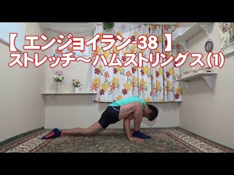 #38 ハムストリングス(1)/筋肉痛改善ストレッチ・身体ケア【エンジョイラン】