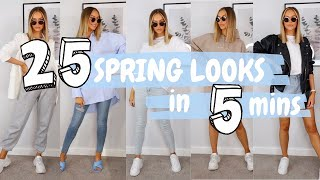 SIMPLE SPRING OUTFIT IDEAS | 2020 LOOKBOOK | ALEXXCOLL