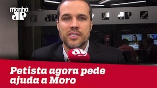 Camilo Santana, petista que sempre atacou Moro, agora pede ajuda | #FelipeMouraBrasil