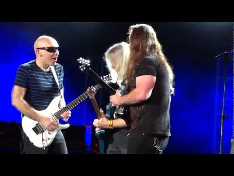 Joe Satriani / John Petrucci / Steve Morse - Really Got Me (The Kinks) + White Room (Cream) - G3