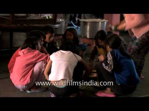 World's largest family kids squat and eat simultaneously, Mizoram