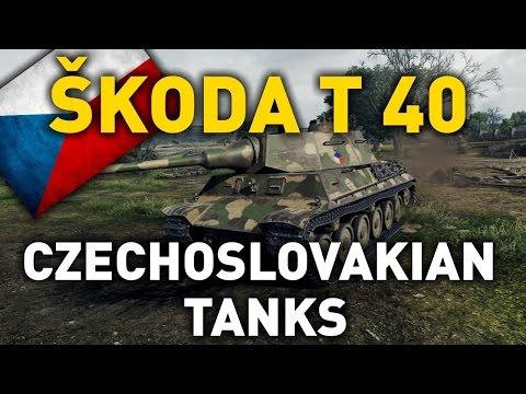 World of Tanks    Czechoslovakian Skoda T 40