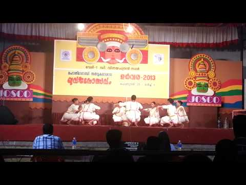 St.teresa's College, Ernakulam-margamkali 2013 video