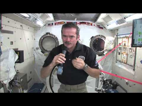 Space Station's Hadfield Connects with Canadian Students