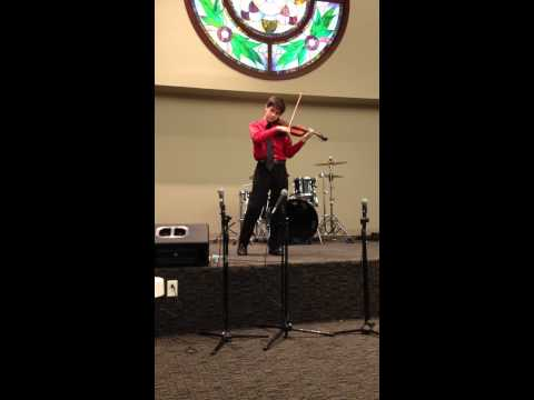 Amazing Grace - Jason Arevalo - Violin - 1st Place Penflorida District Fine Arts AG 2012 String Solo