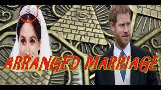 PRINCE HARRY & MEGHAN MARKLE'S WEDDING ARRANGED-NWO