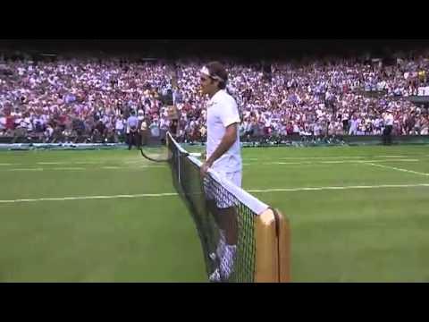 Match point: Federer takes out Wawrinka - Wimbledon 2014