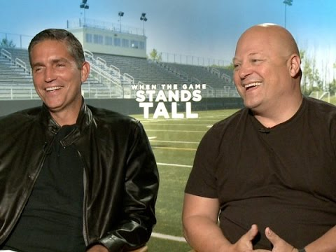 Jim Caviezel and Michael Chiklis Talk 'When the Game Stands Tall'