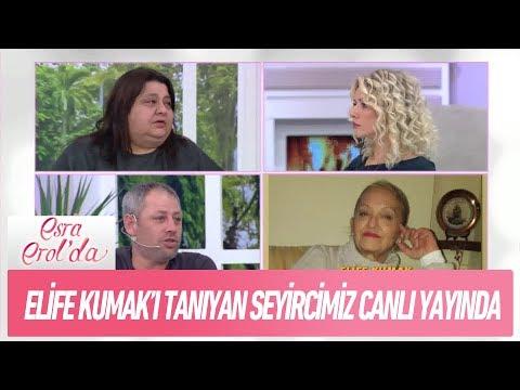 Elife Kumak'ı tanıyan seyircimiz canlı yayında! - Esra Erol'da 28 Aralık 2017