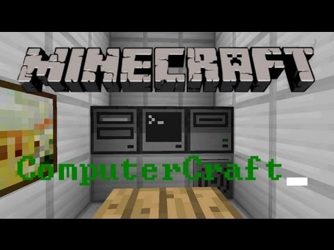 Minecraft 1.7.10 Mod - ComputerCraft Mod - Computers and more in Minecraft (Amazing!)
