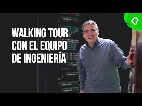 Quién es quién en el equipo de ingeniería de Platzi | Walking Tour | PlatziLive