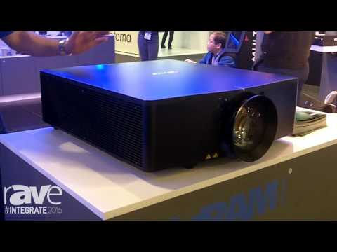 Integrate 2016: Christie Showcases the D13HD-HS Laser Phosphor Projector on the Ingram Micro Stand