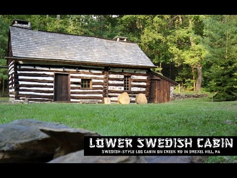 Lower Swedish Cabin - Historical Site [Drexel Hill, Pa] (1080p HD)