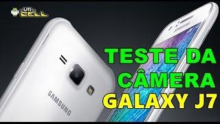 Teste da câmera traseira do Samsung Galaxy J7 (SM-J700) #UTICell