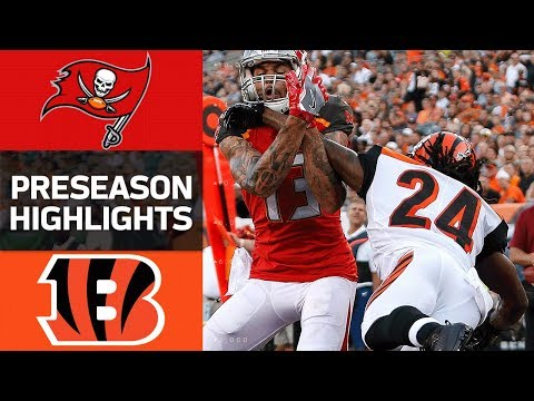 Buccaneers Vs Bengals Nfl Preseason Week 1 Game Highlights