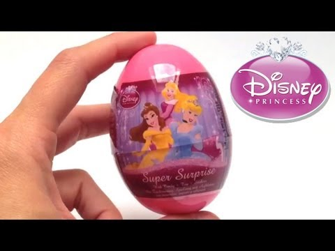 Disney Princess Surprise Egg Unboxing Easter Eggs - Huevo sorpresa juguete regalo