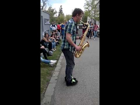 Careless Whisper Saxophone cover Miklos Roland