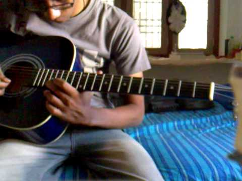 arya-2 uppenantha on guitar