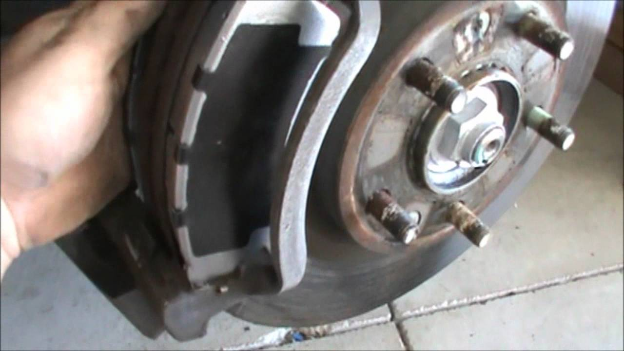Ford Fusion Brake change YouTube