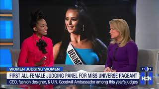 HLN - Marshawn Evans Daniels on Miss Universe and Helping Women Find their Voice