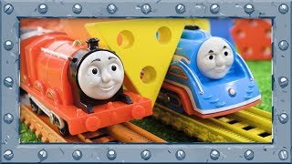 Shapes and Colors Learning with Thomas and Friends - Learning video for Preschoolers Play&Learn #30
