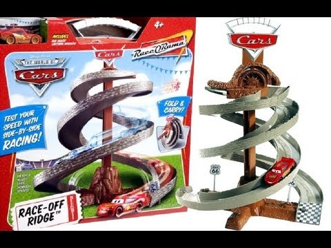 Disney Cars  World Grand Prix Toy Race Track