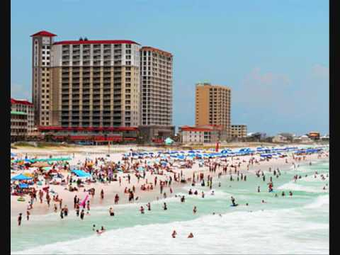pictures of Pensacola Beach from our vacation