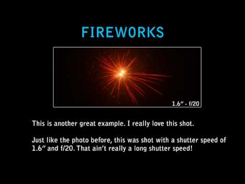 Photography Tip 2 - How to Photograph Fireworks