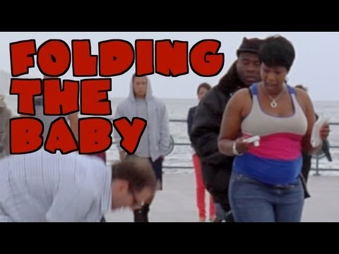 FOLDING THE BABY PRANK - Positively Pranked