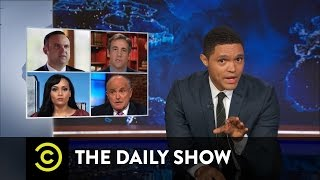 The Hardest Job in the World - Donald Trump's Campaign Surrogates: The Daily Show