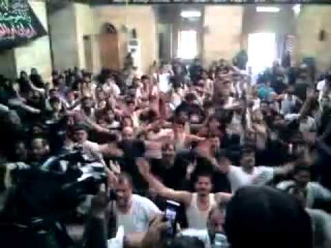 Mojza Halab - Chakwal Party - Ek Wari Sir Meku Babay Da Sajjad Bhira - Shaam (syria) - 2012.flv video