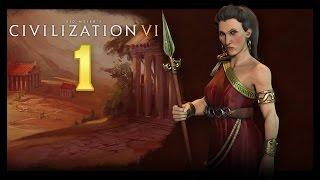 Sid Meier's Civilization 6 - Sparta #1 - Zaczynamy! (Gameplay PL)