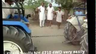 Farmtrac 6060 vs Arjun 605 Turbo  Khulla Challenge.