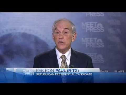 U.S. Congressman Ron Paul on Israel, foreign policy - Dec. 11th