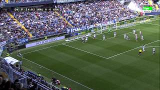 Malaga vs Atletico Madrid 720p HD Full Match First Half | 11-04-2015