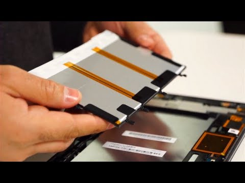 Opening up Sony's Android Tablet. the Xperia Tablet Z (Teardown)